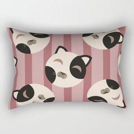 Cute kitty pattern Rectangular Pillow