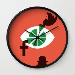 Attension Wall Clock