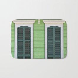 Green Creole Cottage Bath Mat