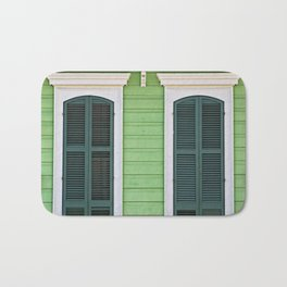 Green Creole Cottage Bath Mat