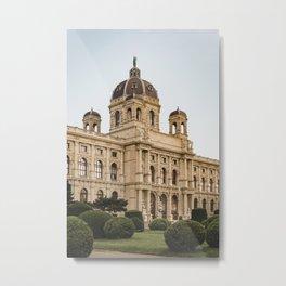 Art History Museum in Vienna, Austria Metal Print