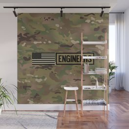 Engineers (Camouflage) Wall Mural