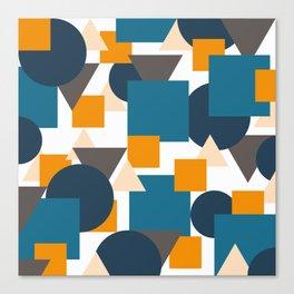 Geometric Mixture Canvas Print