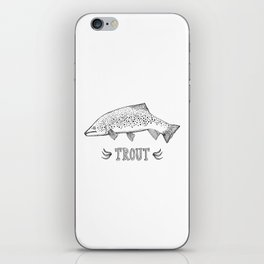 trout iPhone Skin