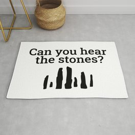 Can You Hear The Stones Rug