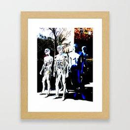 The Blue Boy Framed Art Print