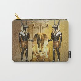 Anubis the egyptian god Carry-All Pouch