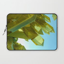 3d Yellow Crystals Laptop Sleeve