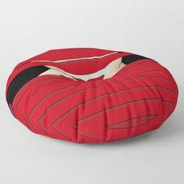 Red Shutter Floor Pillow