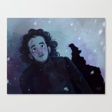 Winter came  Canvas Print