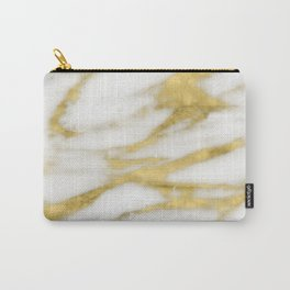 Bari golden marble Carry-All Pouch