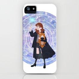 Magic Girl iPhone Case