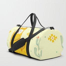 Alpaca summer Duffle Bag
