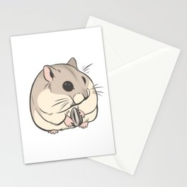 Hamster 1 Stationery Cards