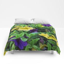 Pansy Art Comforters