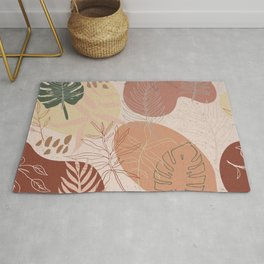 Pink Terracotta Pattern Rug