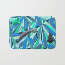Dolphin Swim Bath Mat
