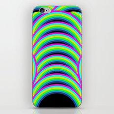 Neon Rainbow iPhone & iPod Skin