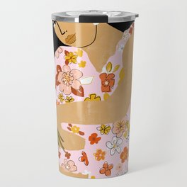 Bohemian Lady Travel Mug
