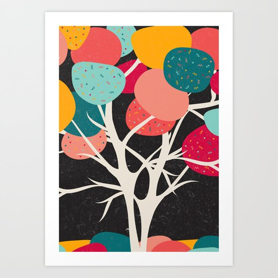 Lovely Tree Art Print