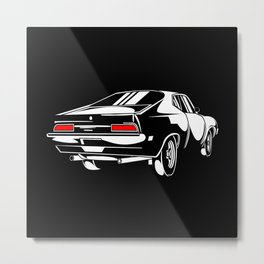 Retro Sports Car Speedster Gift Motif Design Metal Print