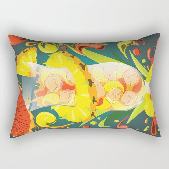 Beachside Blend - Mixology Series Rectangular Pillow