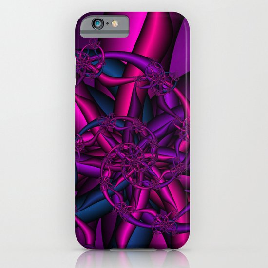 Pink Purple and Blue iPhone & iPod Case
