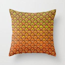 Pineapple Mania Texture Throw Pillow