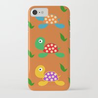 turtle iPhone & iPod Cases featuring turtle by vitamin