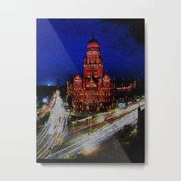Bombay Municipal Corp Building - 192 Metal Print