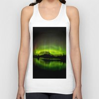 northern lights Tank Tops featuring The Northern Lights by Nirupam Nigam