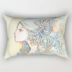 Zodiac - Aquarius Rectangular Pillow