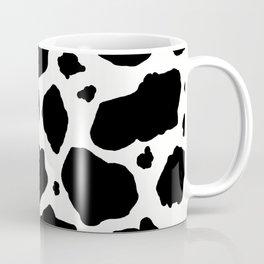 black and white animal print cow spots Coffee Mug