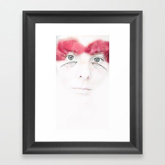 Rose Pretties Framed Art Print