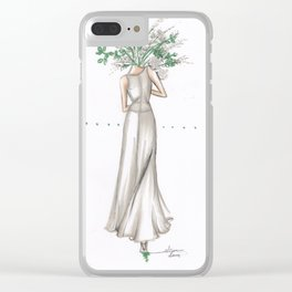 Flower Series 2 Clear iPhone Case