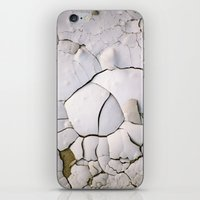 ghost in the shell iPhone & iPod Skins featuring Shell by CrookedHeart