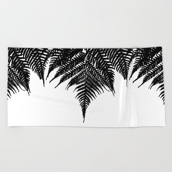 Fern Fringe Beach Towel