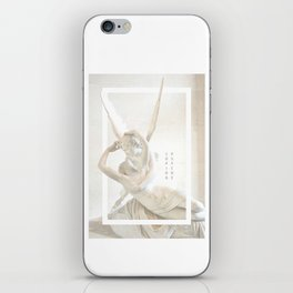 Psyche Revived by Cupid's Kiss iPhone Skin