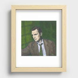Jack Kerouac Recessed Framed Print