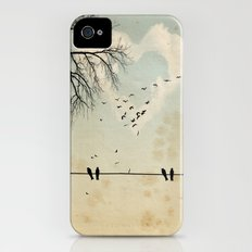 birds iPhone (4, 4s) Slim Case