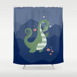 Ogopogo Shower Curtain