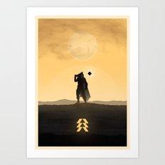Destiny Hunter Art Print
