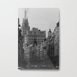 Madrid, Spain, instagram: @1950Film Metal Print