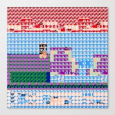 > NES v3 Canvas Print