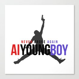 YOUNGBOY - NEVER BROKE AGAIN Canvas Print