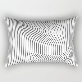 Lines #1 Rectangular Pillow