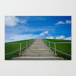Mount Trashmore Canvas Print