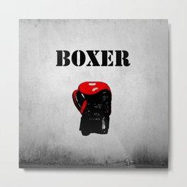 Boxer Metal Print