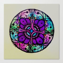 Circle tile Canvas Print