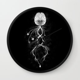 Looking for Connection  Wall Clock